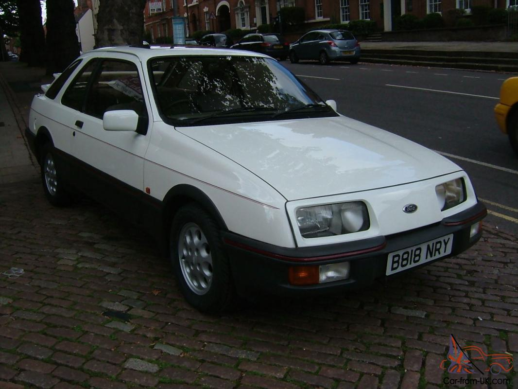 Ford Sierra Xr4 I 3 Door 1985 One Of The Last Manufactured