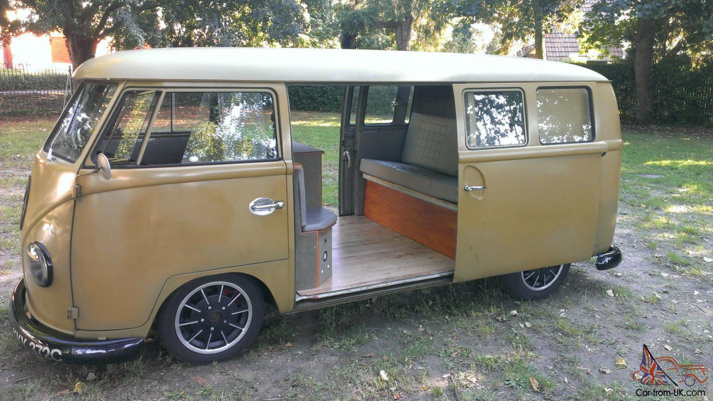 1965 Split Screen Camper Twin Sliding Door Super Rare