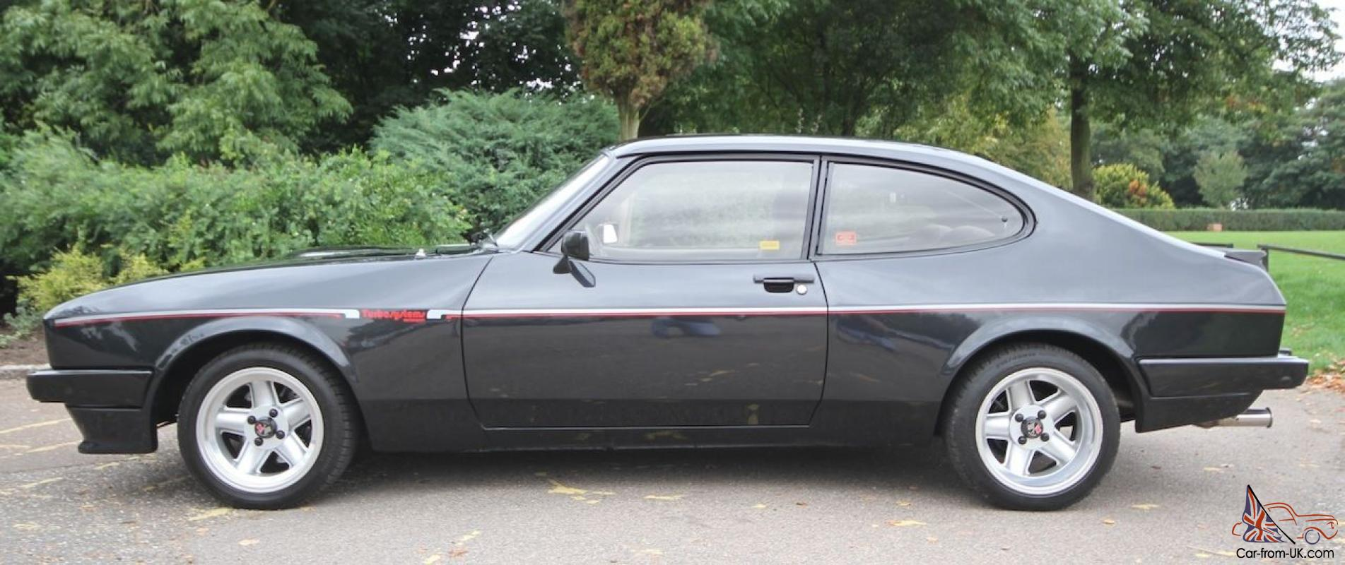1984 ford capri 2 8 injection x pack from dealership turbo technics. Black Bedroom Furniture Sets. Home Design Ideas