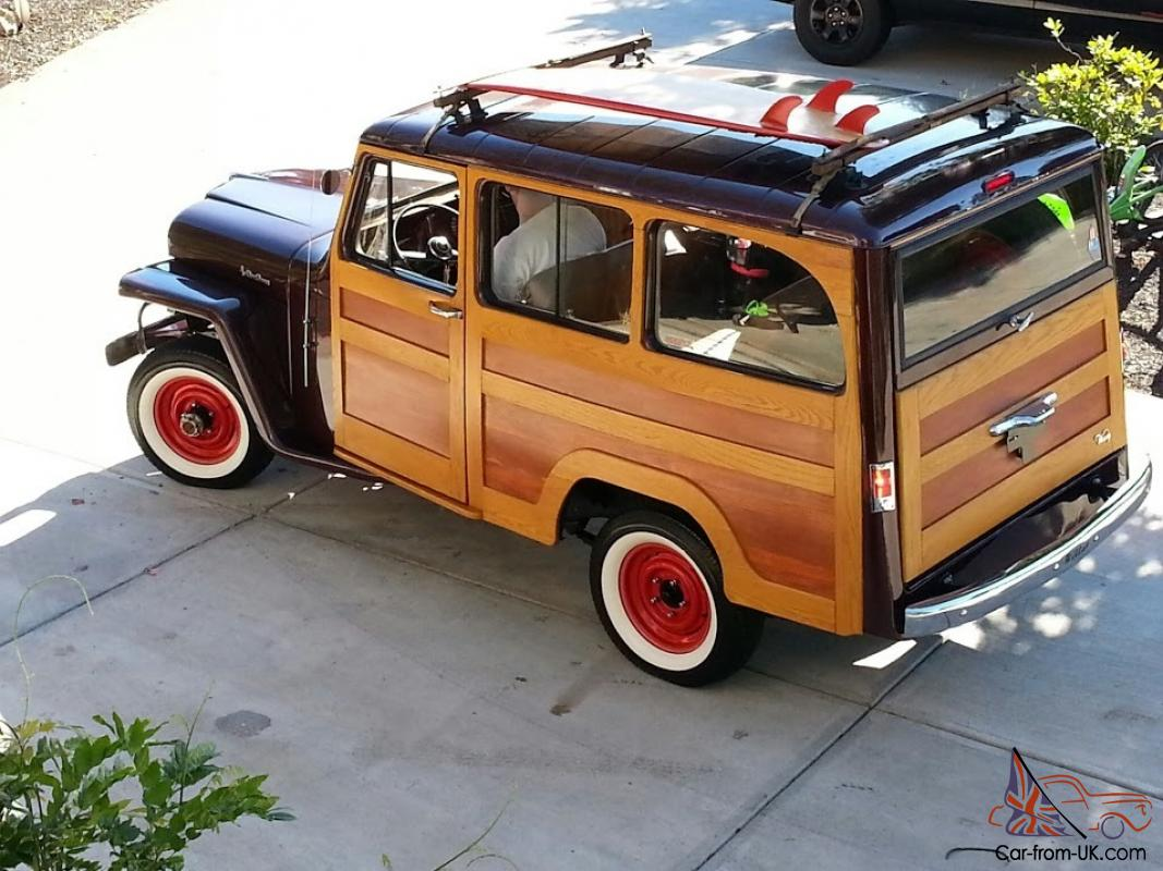 1961 Willys Real Woody Woodie Surf Jeep Rare One Of