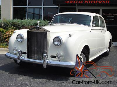 1961 Rolls Royce Silver Cloud Ii Saloon Swb Restored
