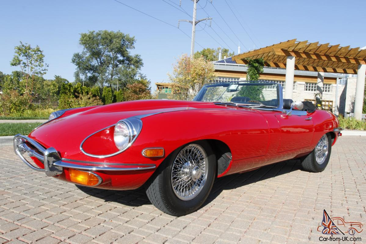 1969 jaguar xke series ii convertible e type roadster. Black Bedroom Furniture Sets. Home Design Ideas