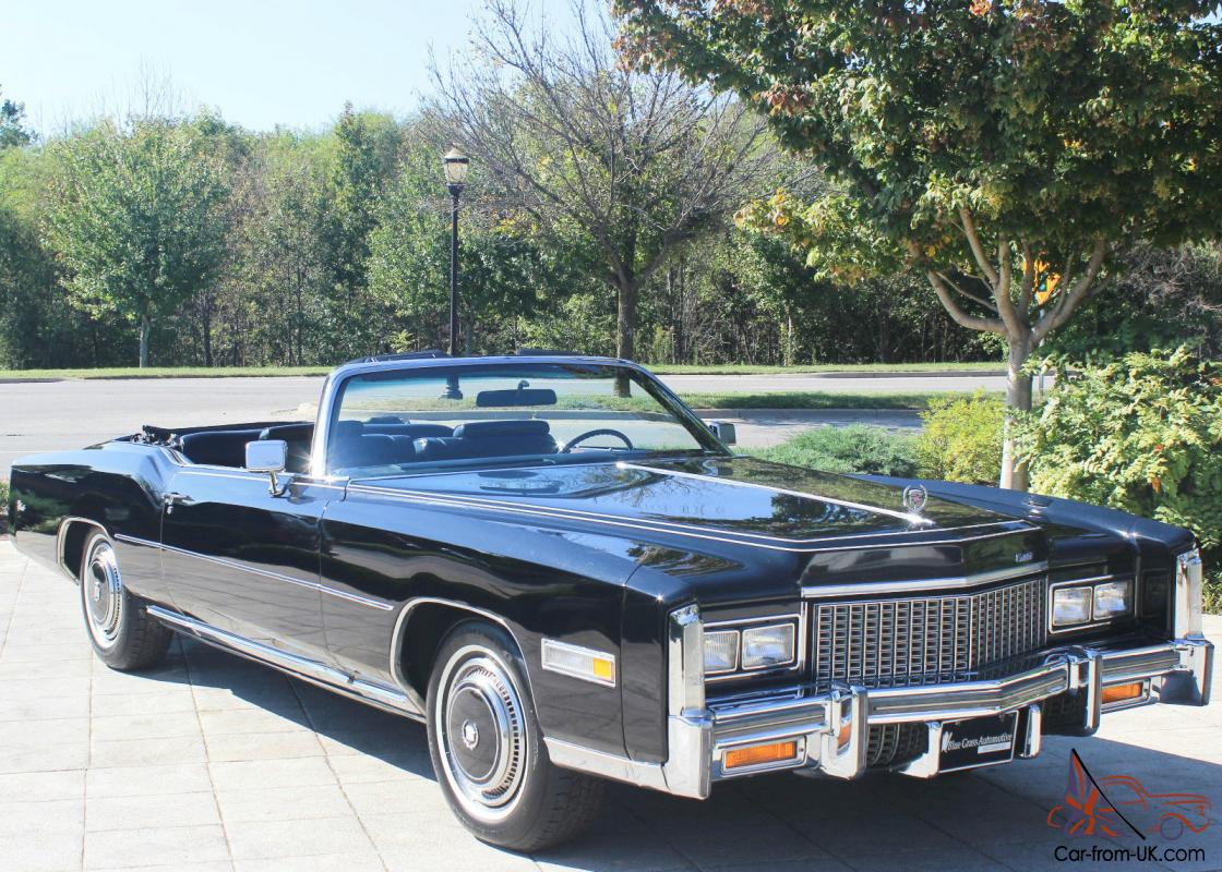 1976 cadillac eldorado base convertible 2 door 8 2l for sale. Cars Review. Best American Auto & Cars Review