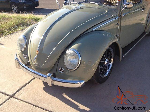 1960 Vw Ragtop Bug