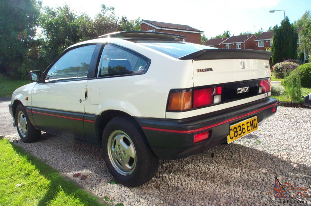 1985 Honda Civic CRX mk1 classic first generation