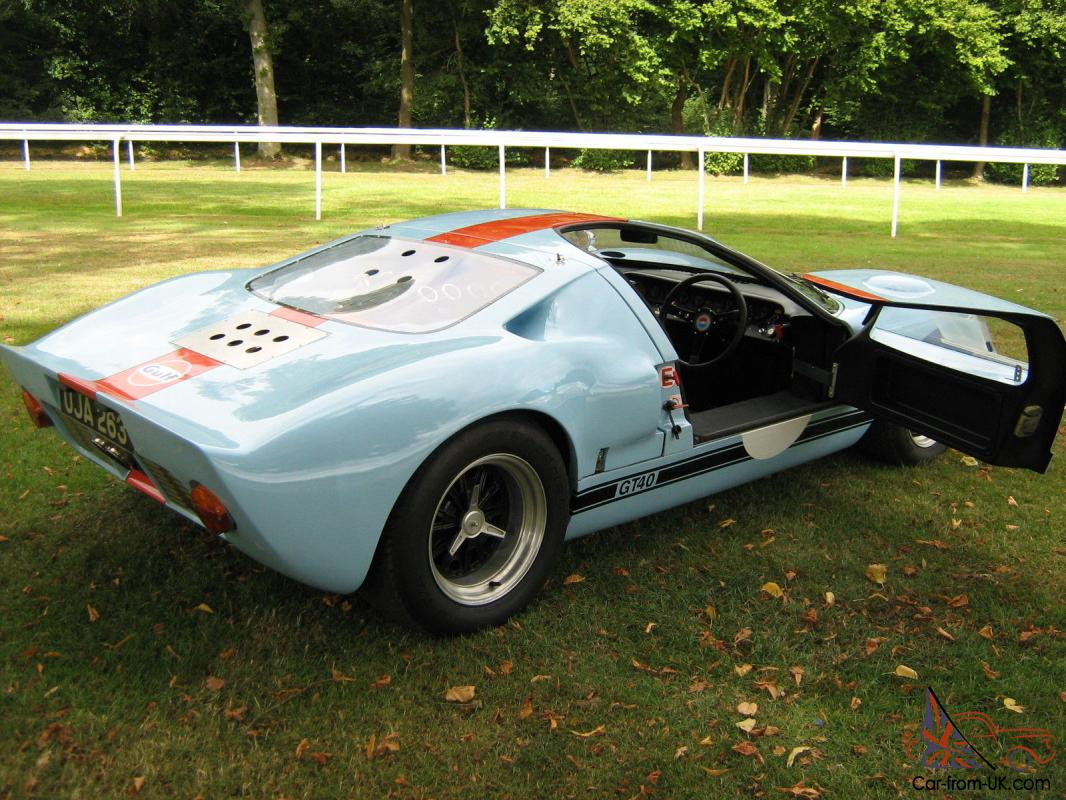 ford gt40 replica for autos post. Black Bedroom Furniture Sets. Home Design Ideas