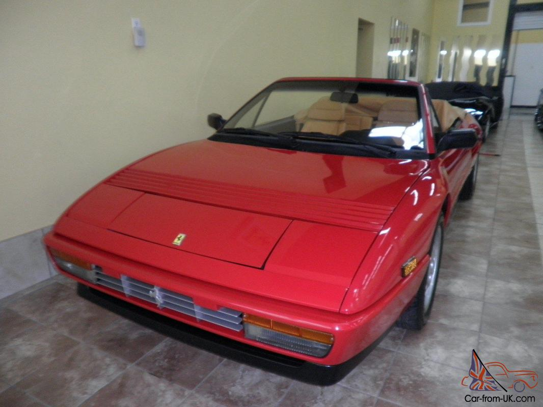 kit distribution ferrari mondial t 1989 ferrari mondial t cabriolet black creme 31k miles owned. Black Bedroom Furniture Sets. Home Design Ideas