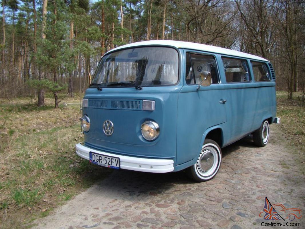 Vw T2 Camper Van Fully Restored