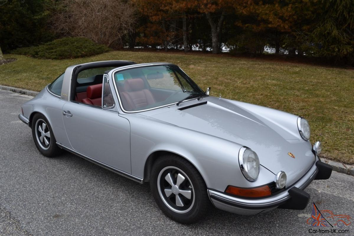 1973 porsche 911 targa in extraordinary condition. Black Bedroom Furniture Sets. Home Design Ideas