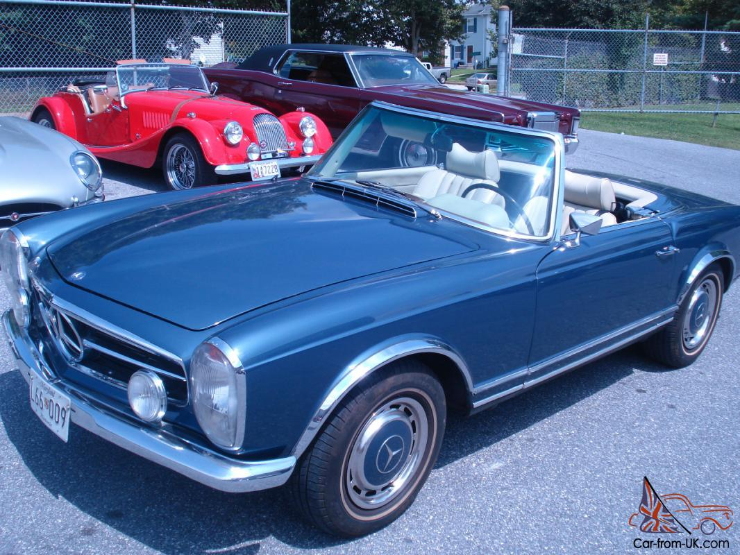 1967 mercedes benz 250sl for Mercedes benz fixed price servicing costs