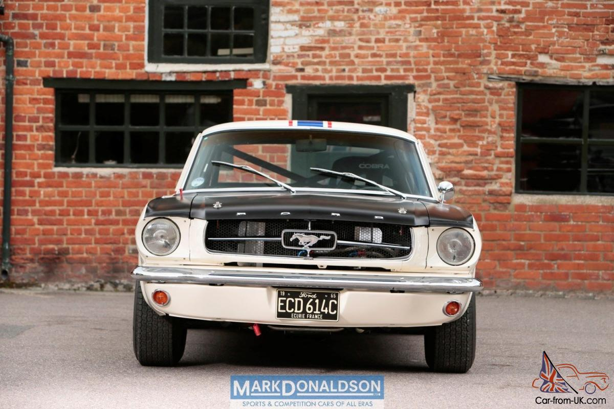 1965 ford mustang historic racecar