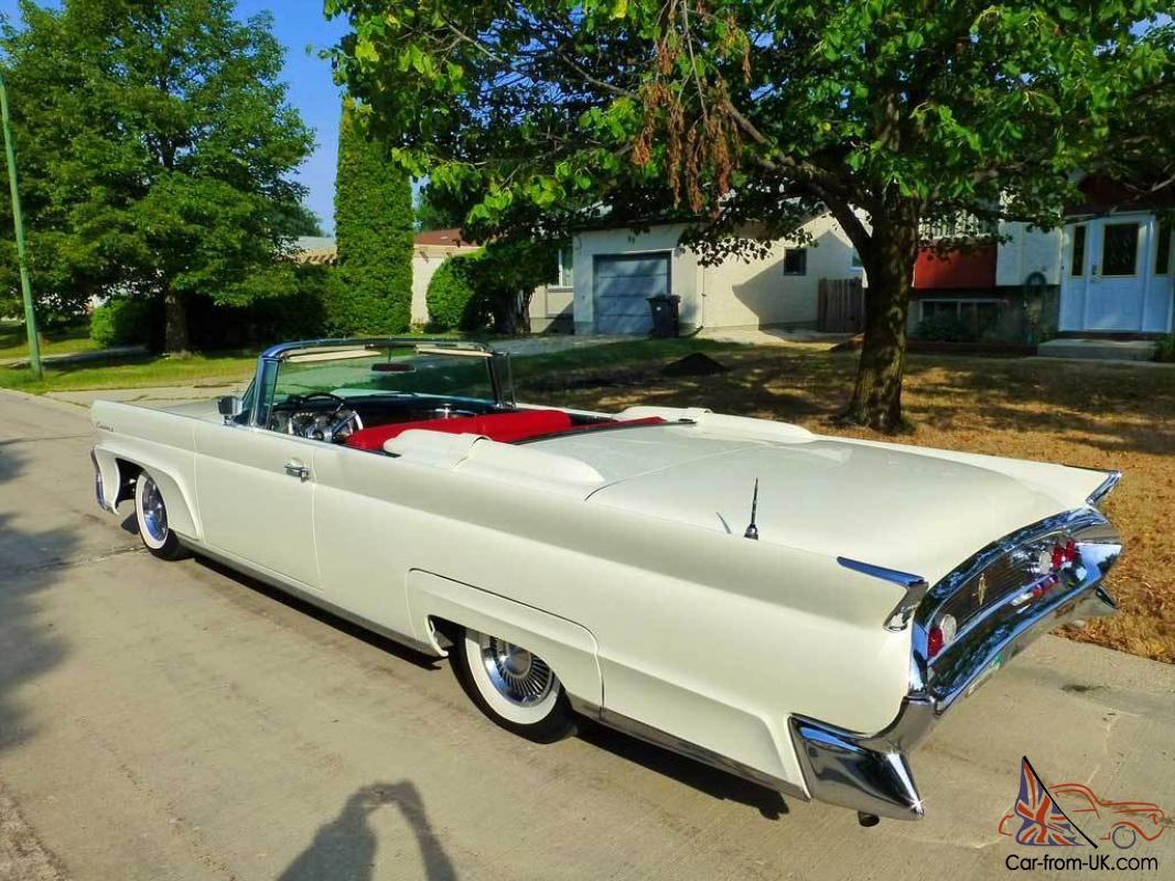 1958 lincoln continental mark iii convertible 58 mk iii. Black Bedroom Furniture Sets. Home Design Ideas