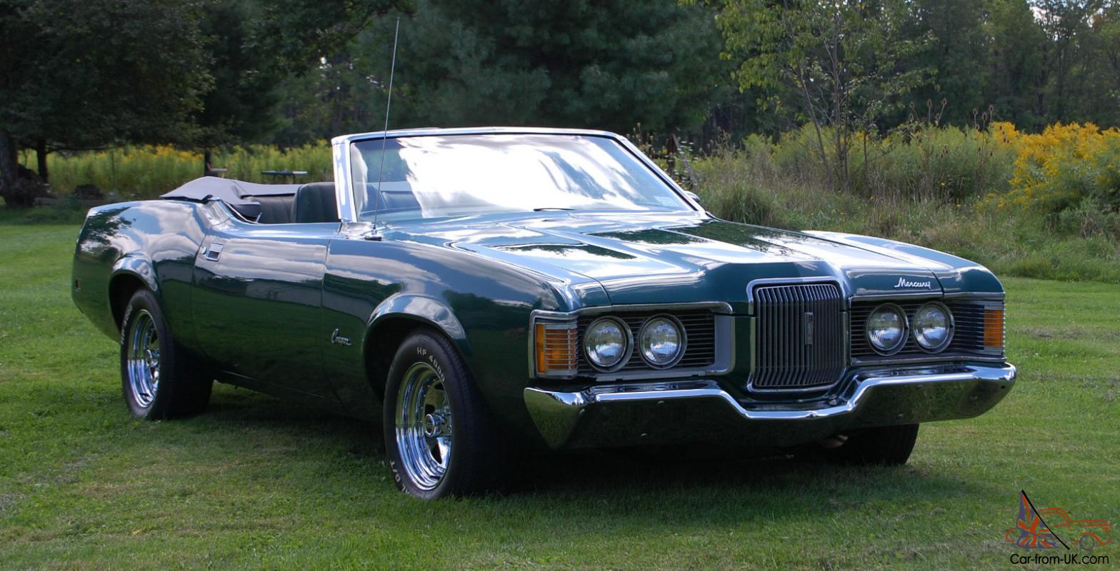1971 Cougar Convertible 89k Miles Only 1717 Ever Made