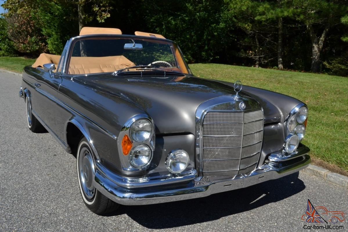 1965 mercedes 300se cabriolet in excellent condition for 1965 mercedes benz