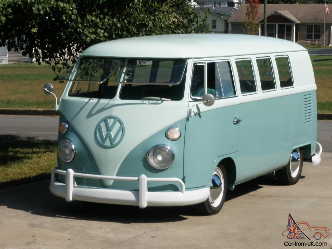 1964 volkswagen bus 11 window safaris walk through