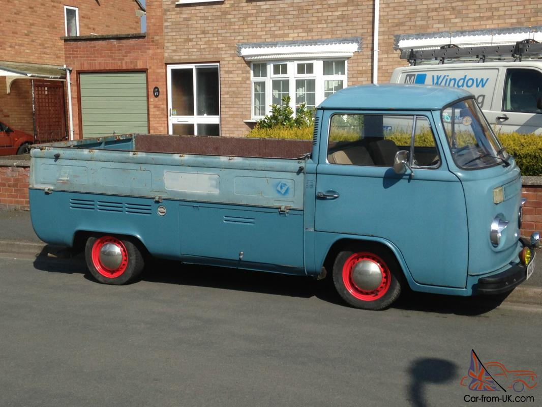 Vw Type 2 Volkswagen Single Cab Bay Window Pick Up 1974