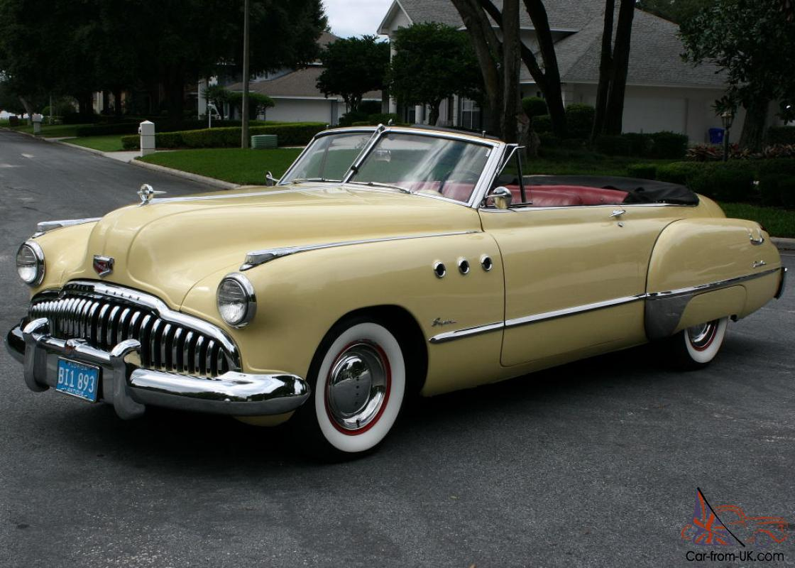 Elegant Restored Survivor 1949 Buick Super Convertible