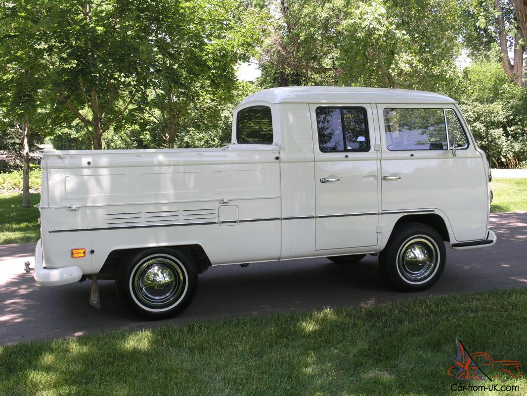 1970 Vw Double Cab Pickup Truck Unrestored Never Ever