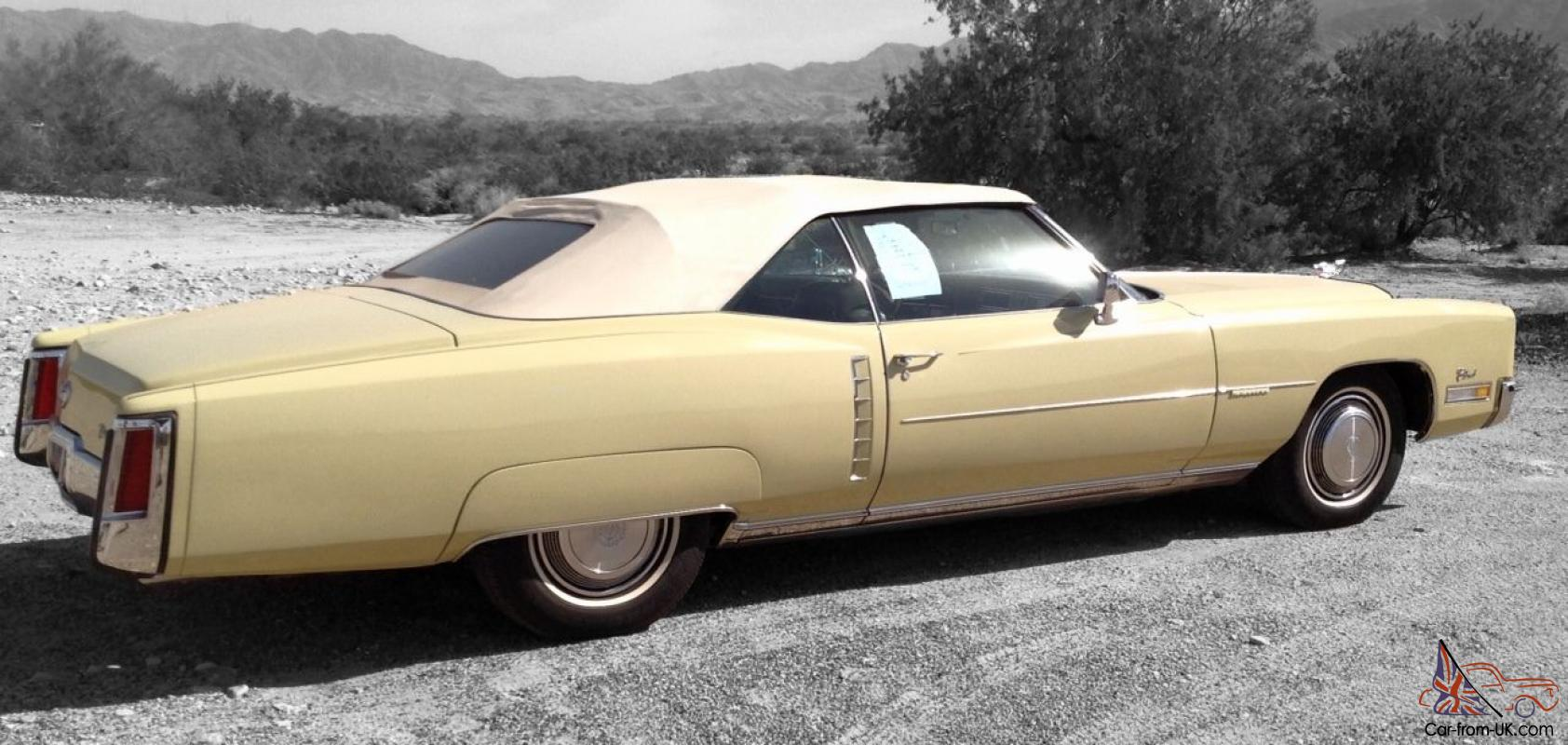 1972 cadillac eldorado base convertible 2 door 8 2l for 1972 cadillac eldorado interior