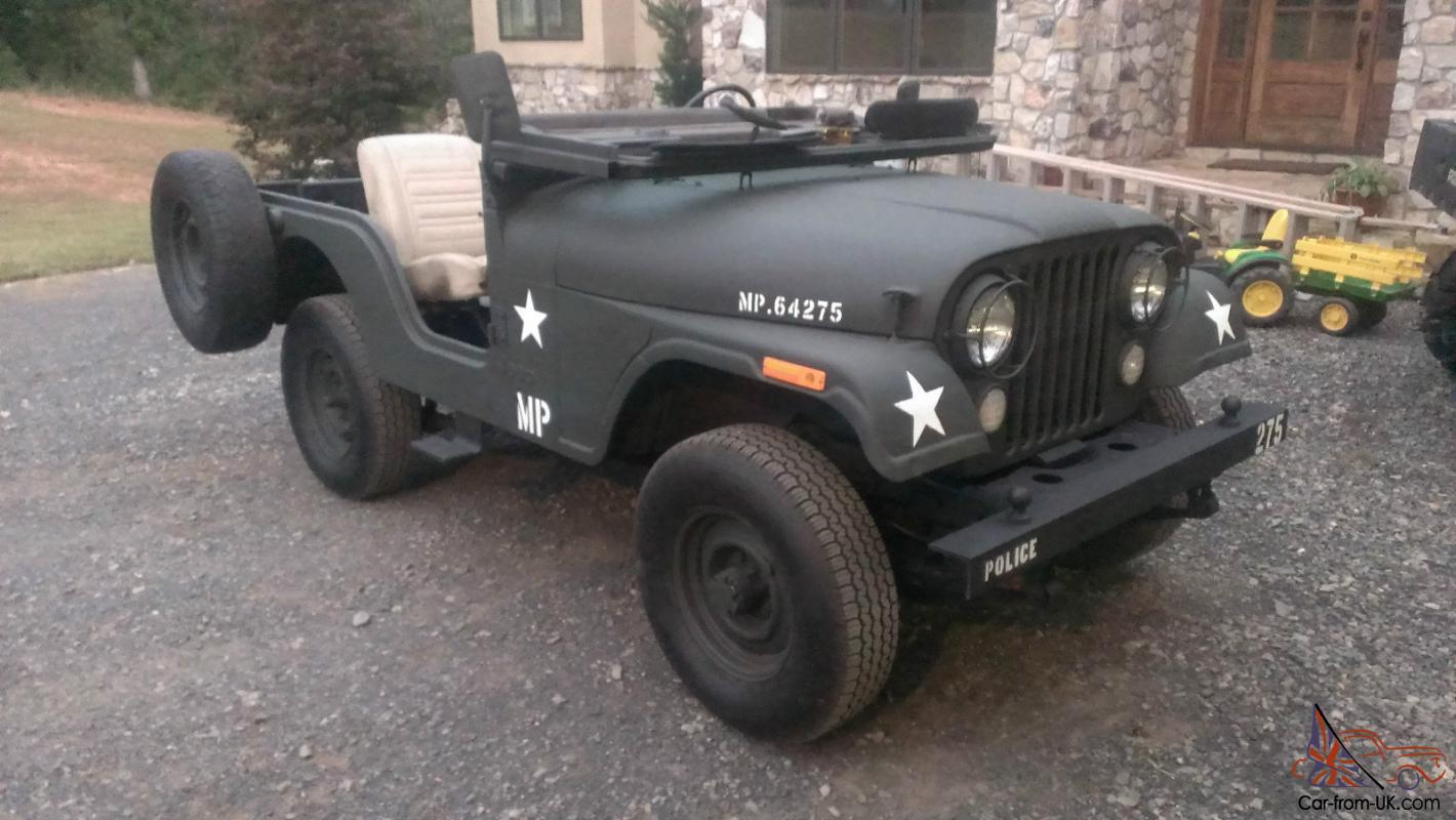 1978 Jeep CJ5 military 2-Door 3.8L
