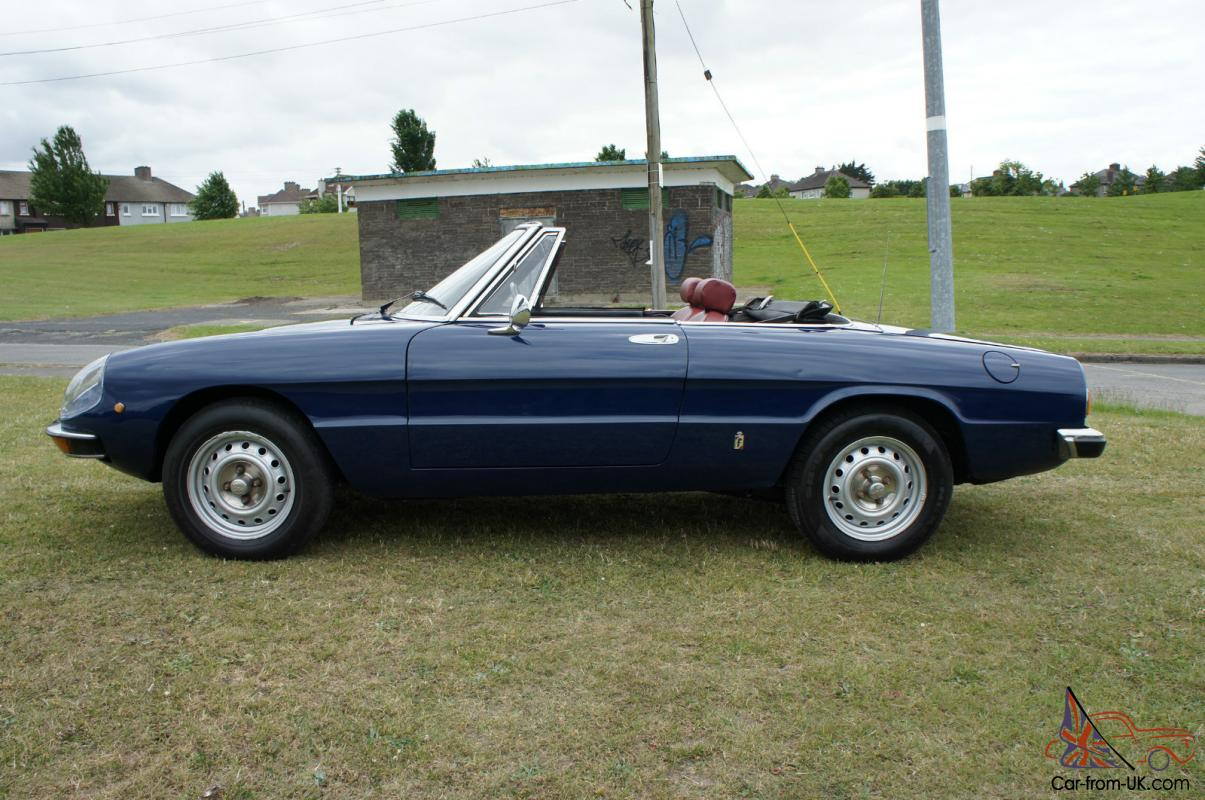 Alfa Romeo Spider Parts and Accessories Automotive