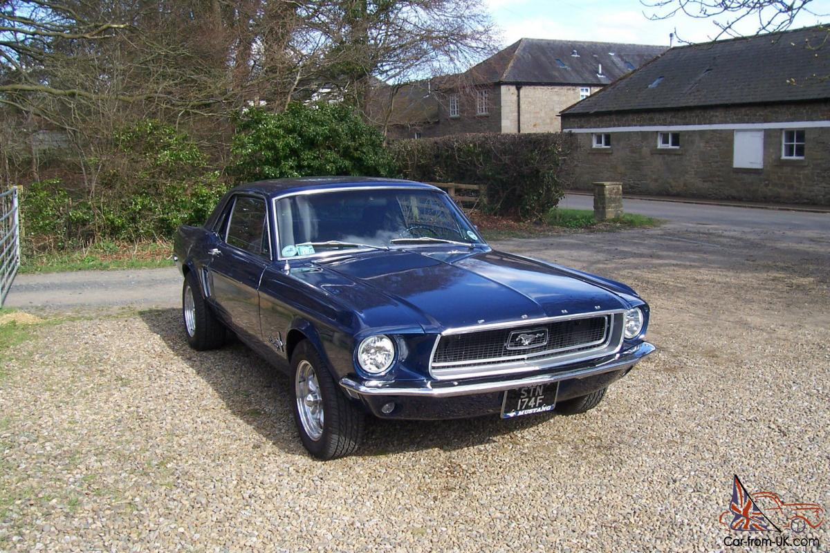 1968 ford mustang coupe 289 v8. Black Bedroom Furniture Sets. Home Design Ideas