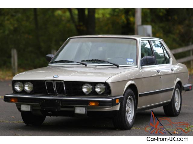 1988 bmw 528 528e rare collectible super low 71k miles southern car garaged. Black Bedroom Furniture Sets. Home Design Ideas