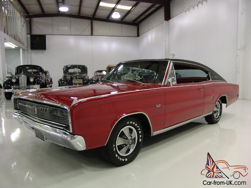 1967 Dodge Charger 2 Dr Sports Hardtop 4 Bucket Seats Full Console Dual Exhaust