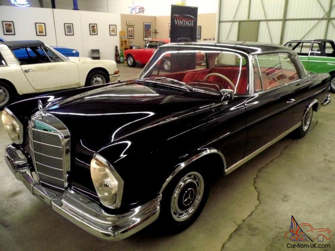1963 mercedes 220se coupe from sunny southern california for 1963 mercedes benz