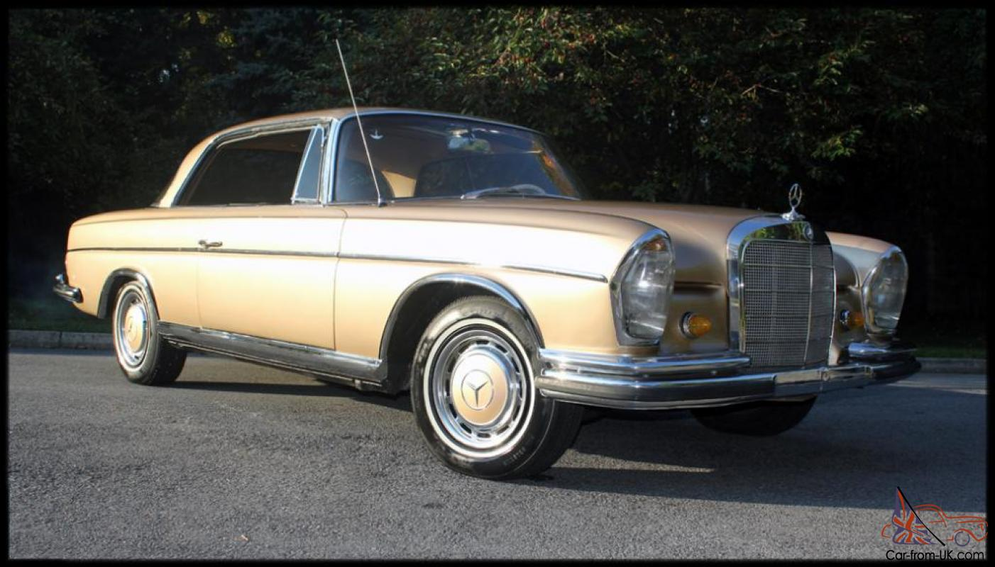 1965 mercedes benz 300se sunroof coupe airride 280 se 1 of for 1965 mercedes benz