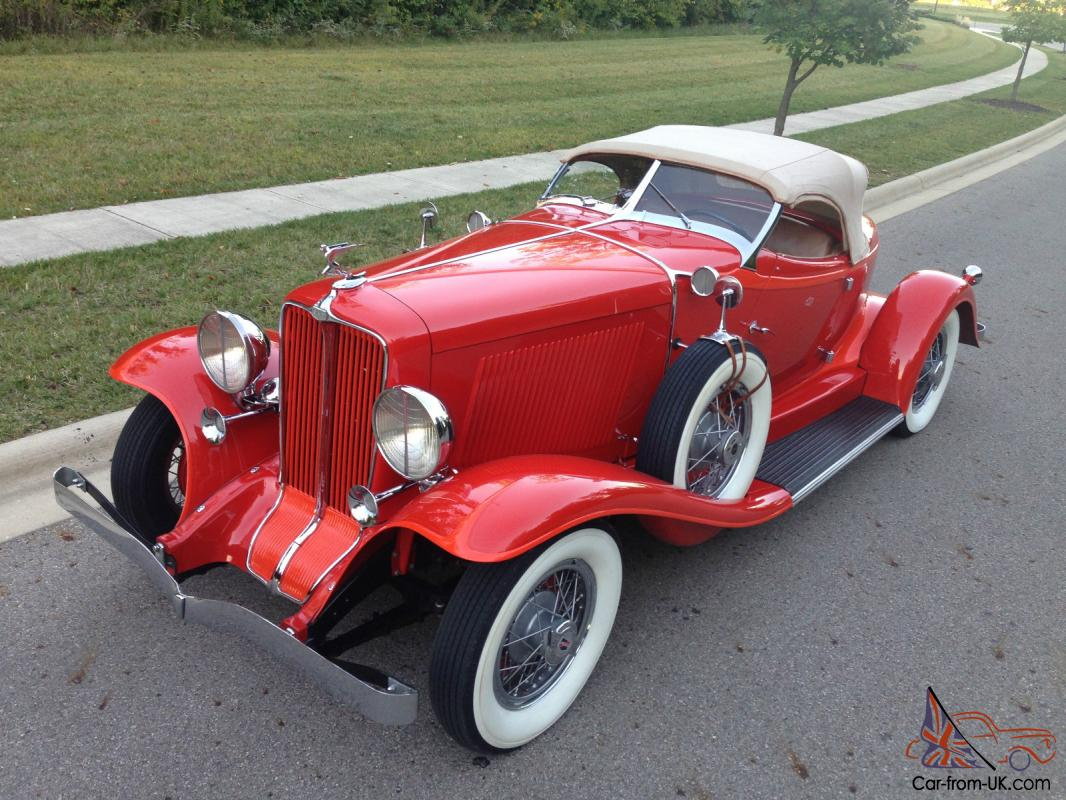 1932 Auburn Boattail Speedster, Gorgeous And Nicely Sorted