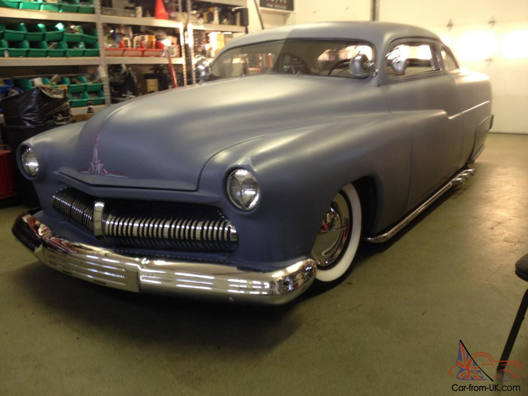 1951 Mercury chopped air ride lead sled