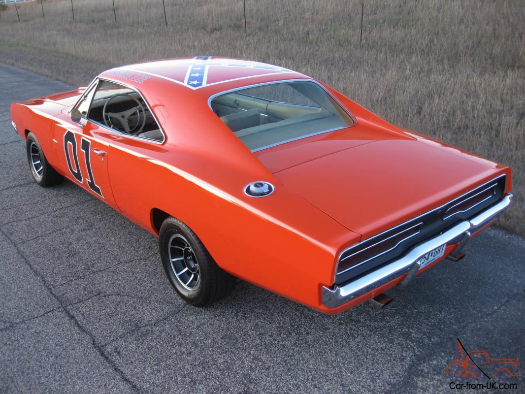 1969 dodge charger dukes of hazzard general lee exact replica 68 70. Black Bedroom Furniture Sets. Home Design Ideas