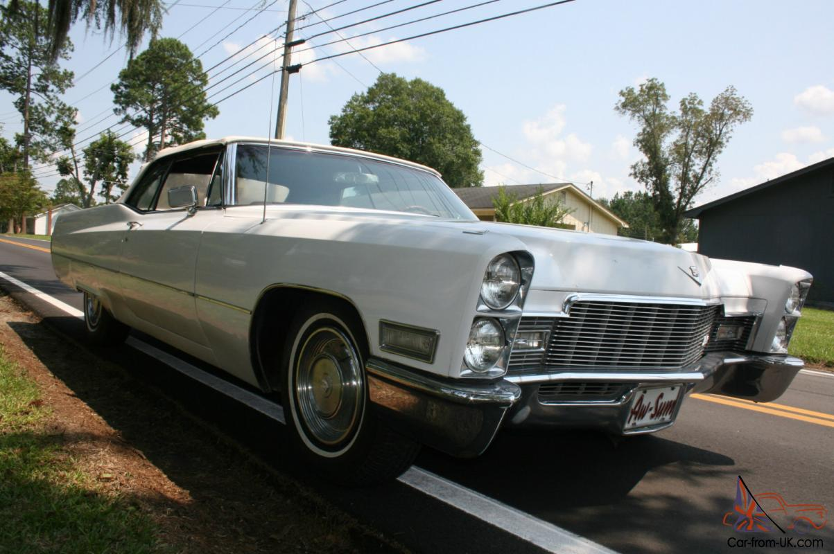 Fantastic 1968 Cadillac Deville Convertible Prices To Sell