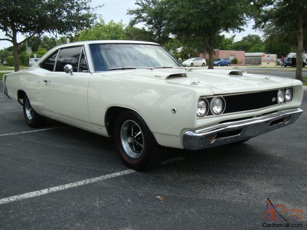 1968 DODGE CORONET SUPER BEE 383 4 SPEED COLD A/C MUSCLE ...