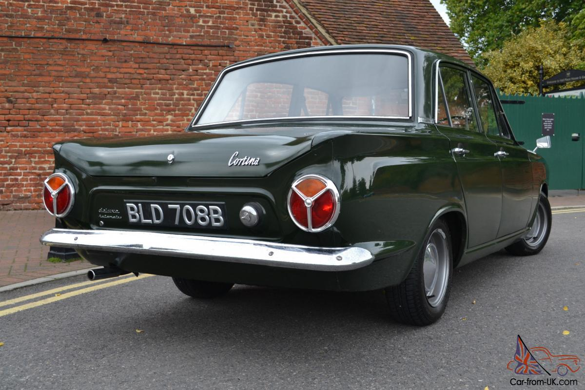 1964 Ford Cortina De Luxe Automatic Mk1 Goodwood Green
