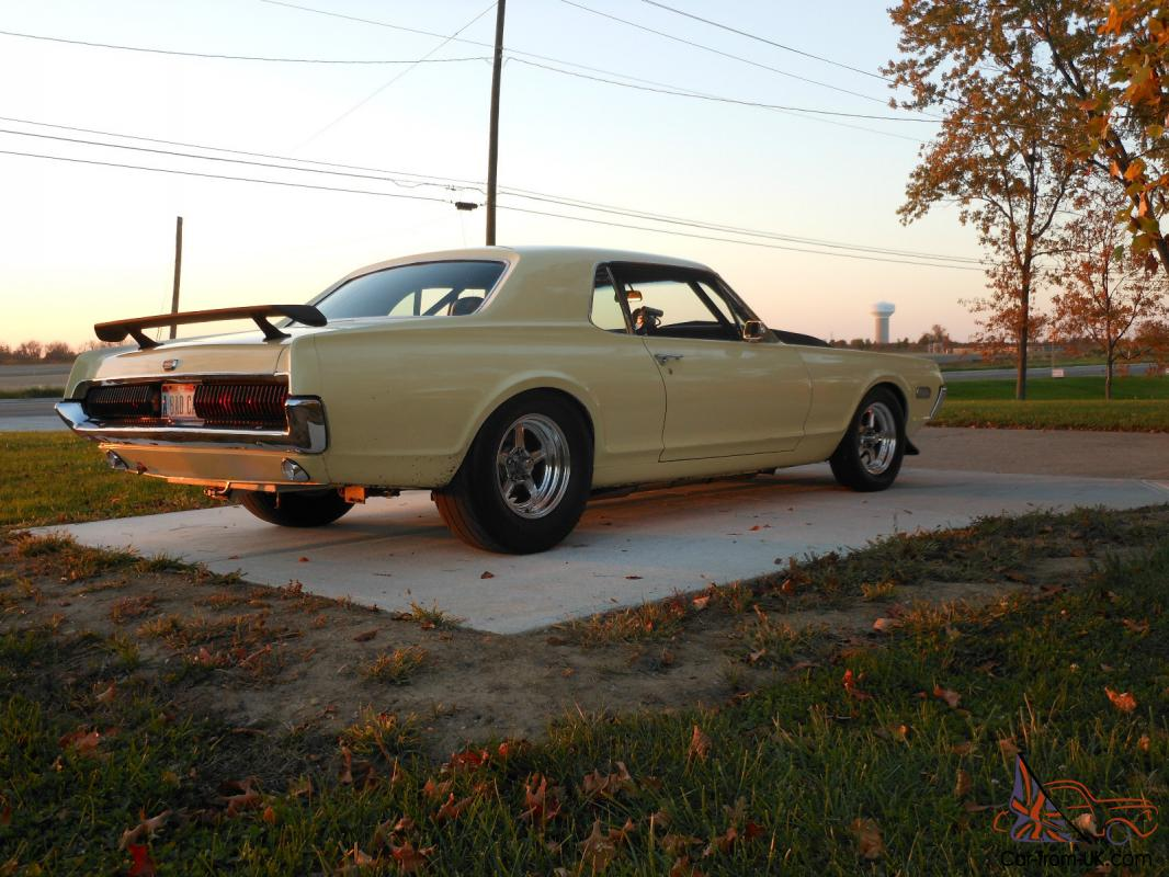1967 MERCURY COUGAR/STREET OR STRIP/RUST FREE SOUTHERN