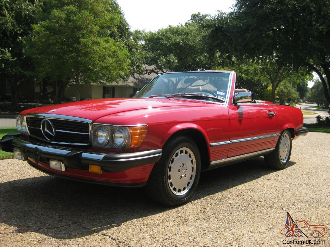 1988 560sl mercedes benz for 1988 mercedes benz 560sl for sale