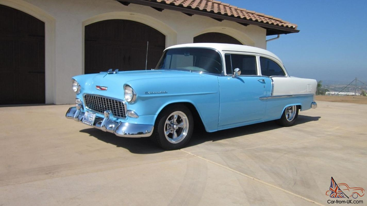 1955 chevy 2 door post smooth driving cruiser blowing for 1955 chevy two door