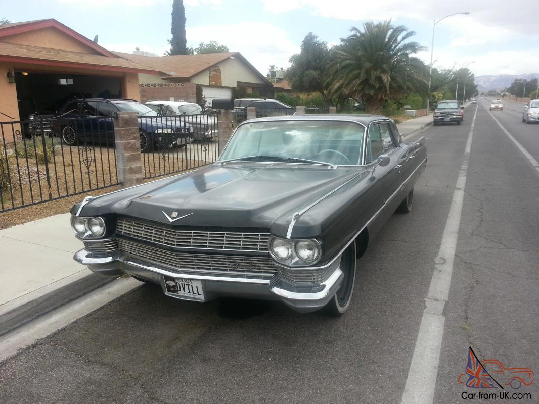 64 Cadillac Sedan Deville NO RESERVE Rare Options Photo
