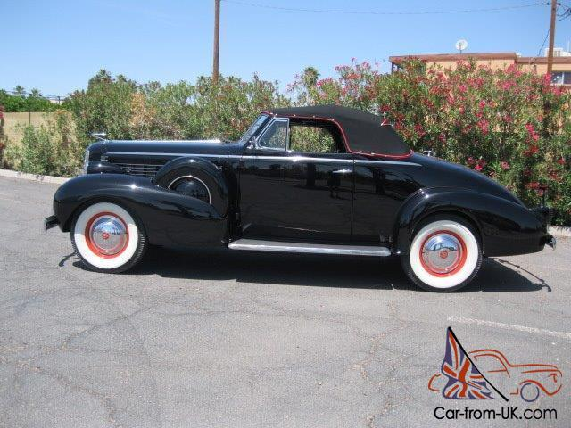 1937 lasalle convertible coupe cadillac vintage classic for Resto lasalle