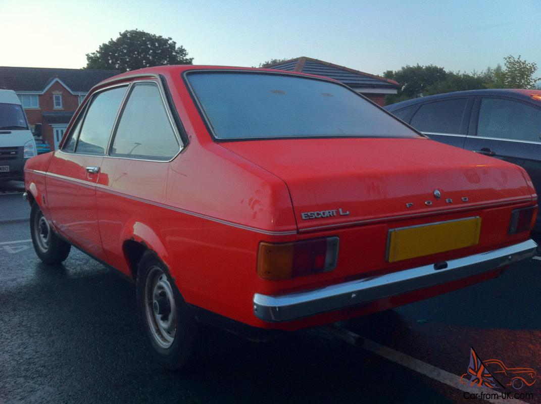 1975 Ford Escort 1100 Popular Related Infomation