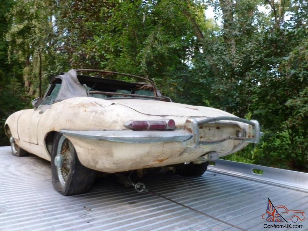 Jaguar E Type 1968 Roadster Matching Numbers Excellent Barn Find Project
