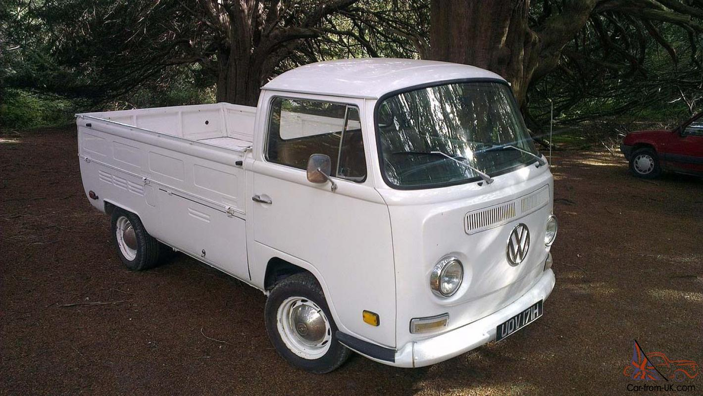 volkswagen type 2 bay window pick up 1970. Black Bedroom Furniture Sets. Home Design Ideas
