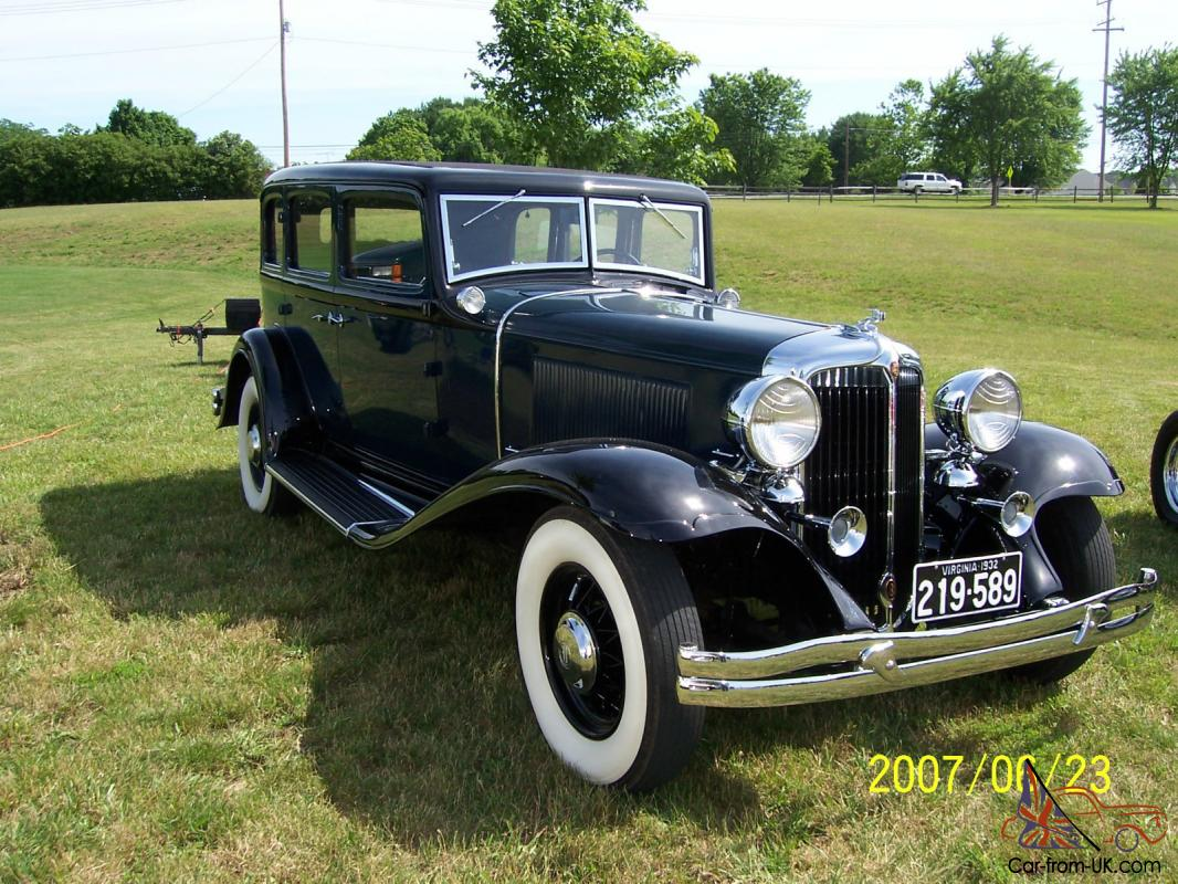 1932 chrysler imperial imaculate blue antique classic collector car ...