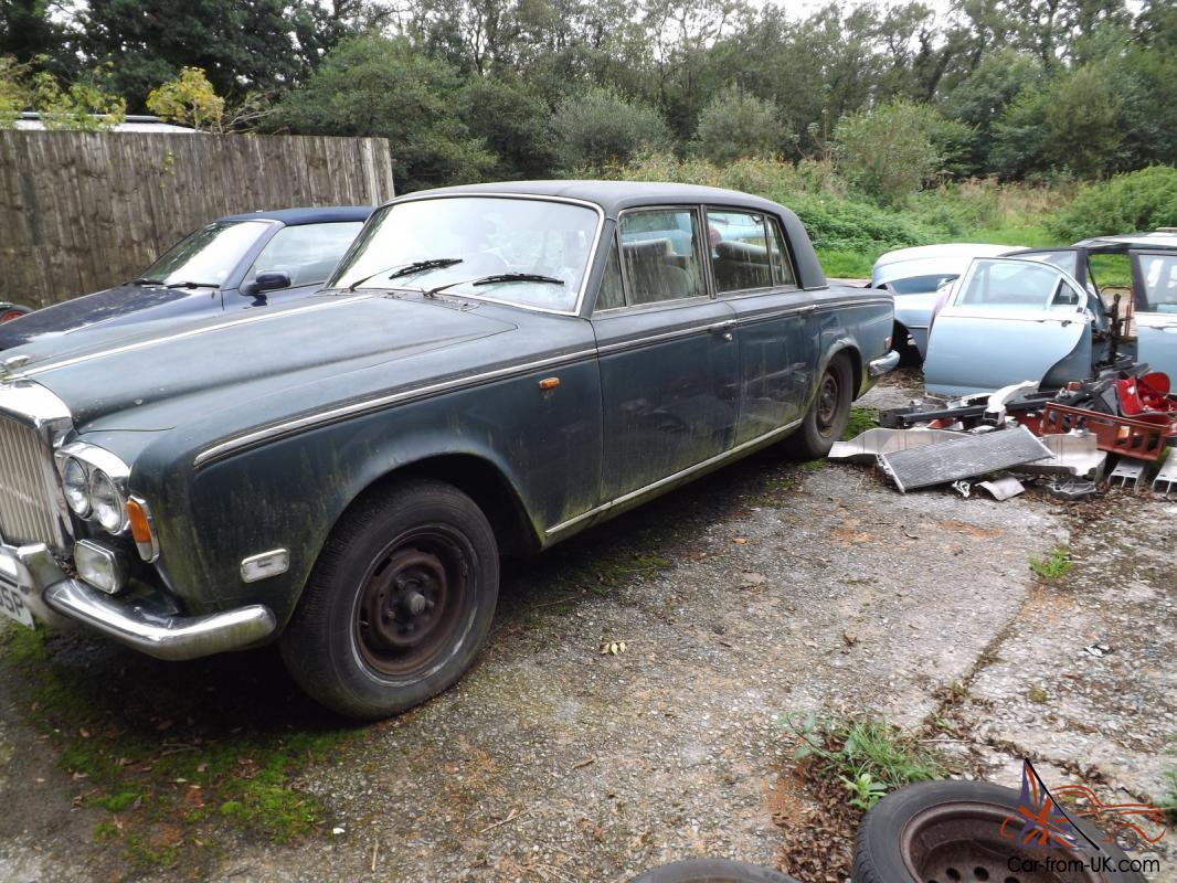Rolls Royce Silver Shadow 1971 And Bentley T1 1976 Damaged
