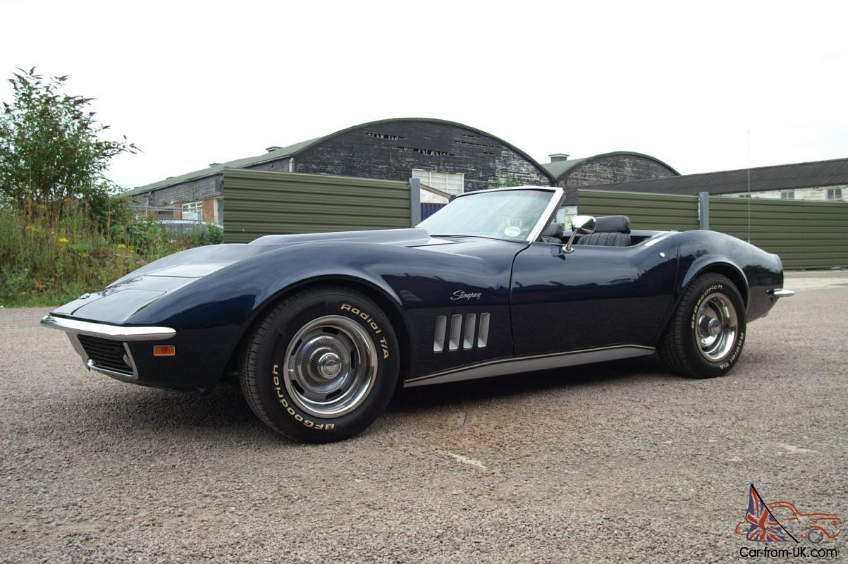 1969 chevrolet corvette stingray 4 speed manual roadster for sale. Cars Review. Best American Auto & Cars Review
