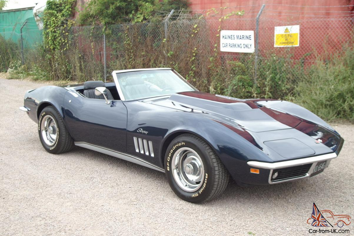 1969 chevrolet corvette stingray 4 speed manual roadster. Cars Review. Best American Auto & Cars Review