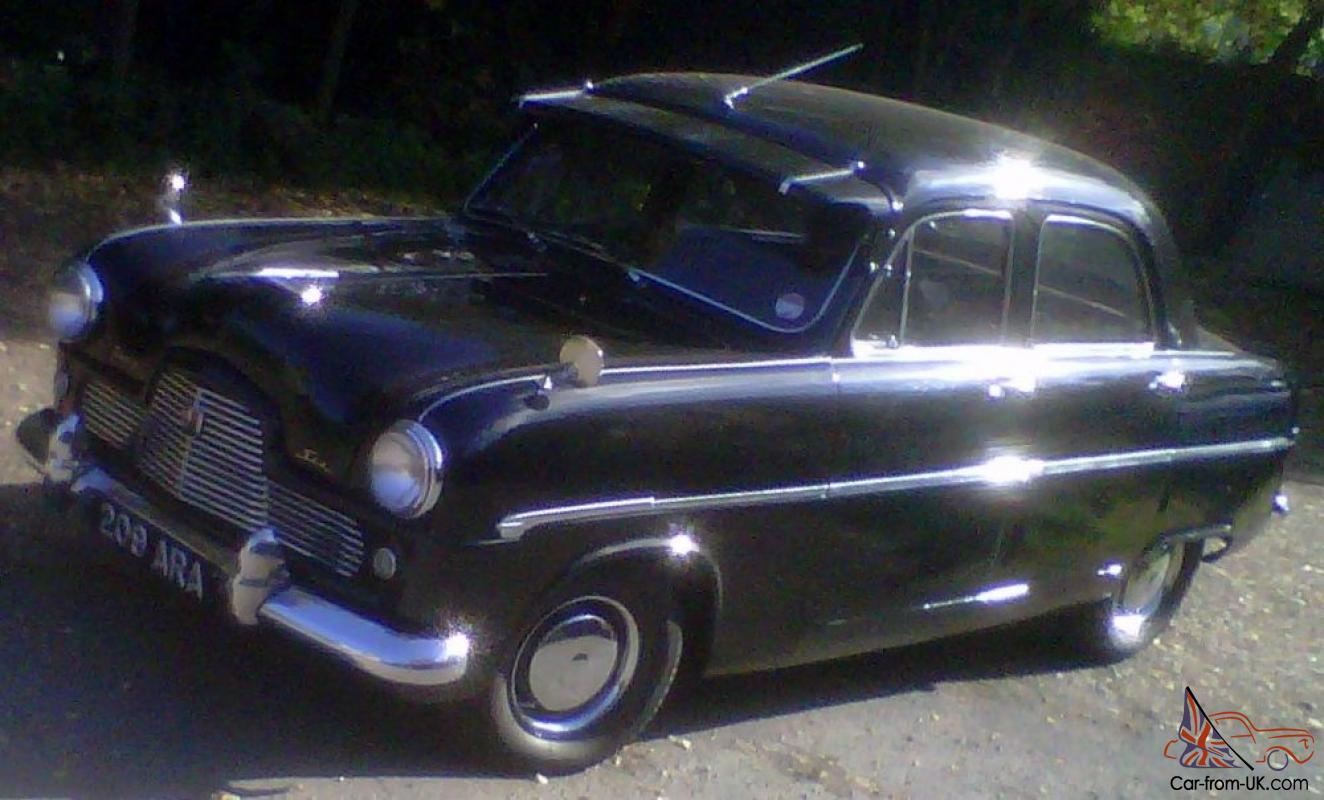Probably Unique 1955 Ford Mk1 Zephyr Very Reluctant Sale Tons Of Coupe Suspension New Parts