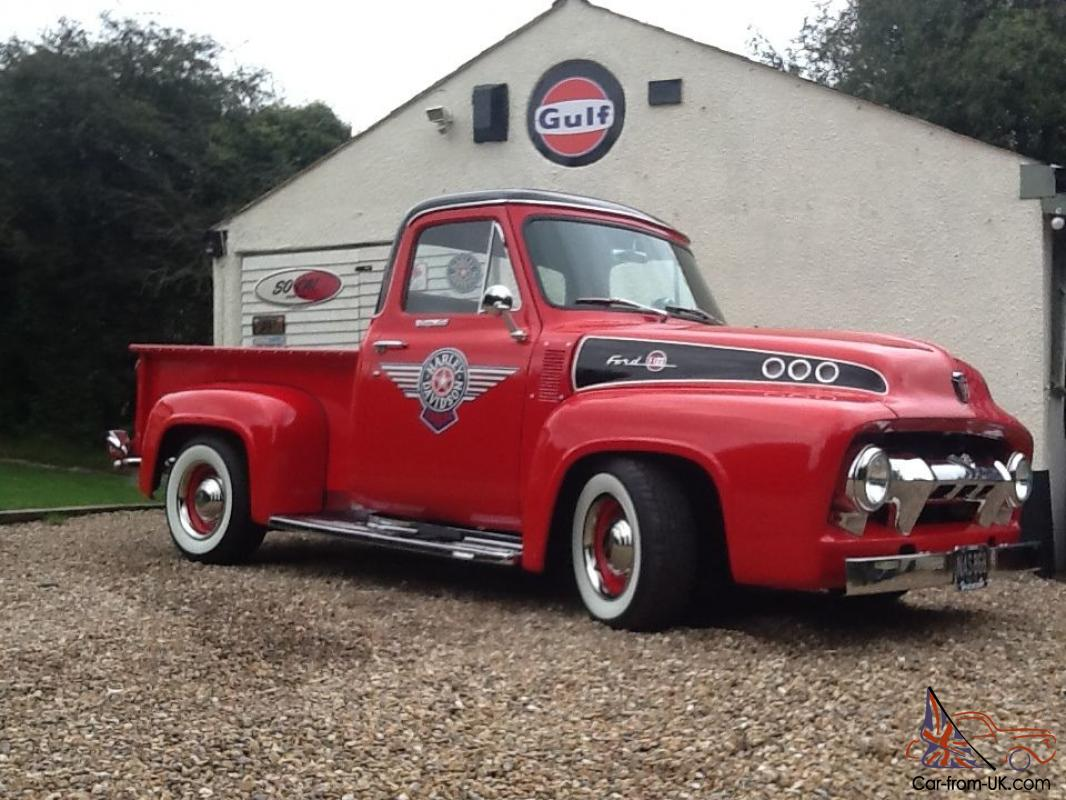1954 Ford F100: ford motor auto sales
